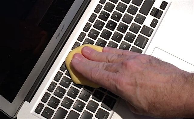 Чистящее средство для клавиатуры своими руками