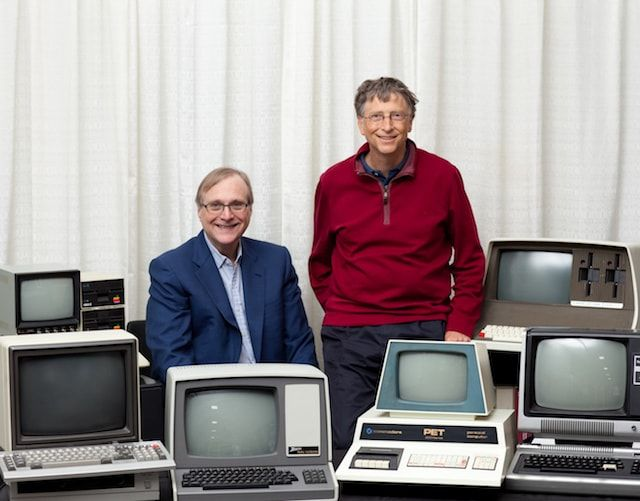 Билл Гейтс и Пол Ален