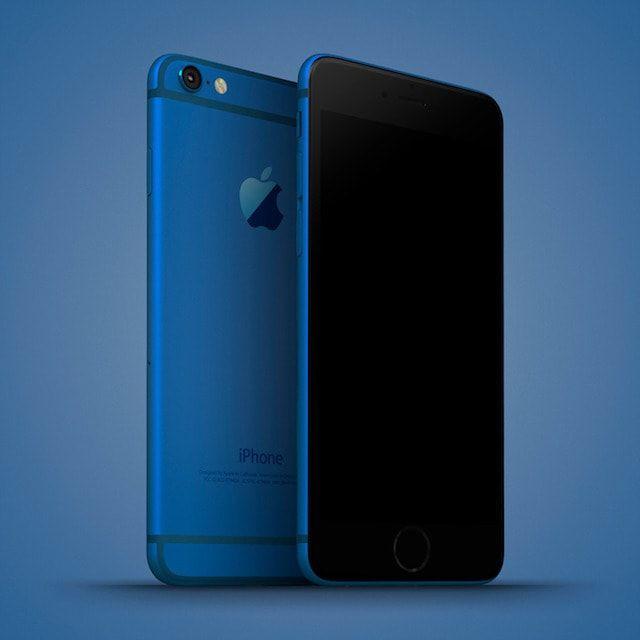 iphone 6c blue