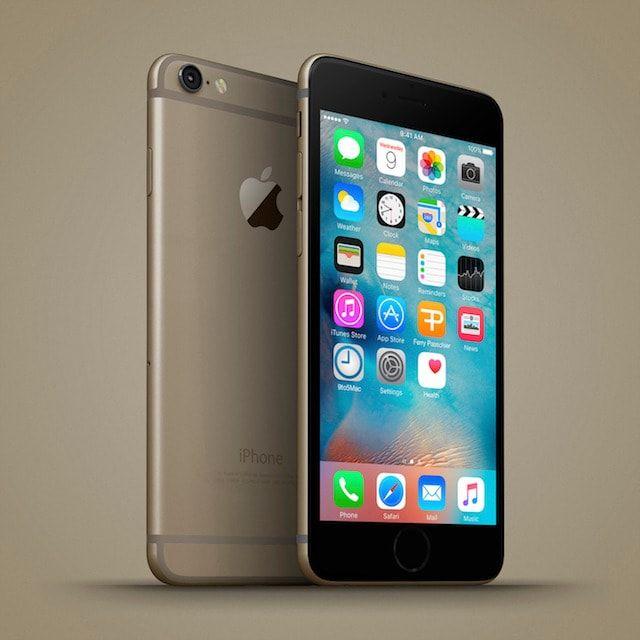 iphone 6c gold