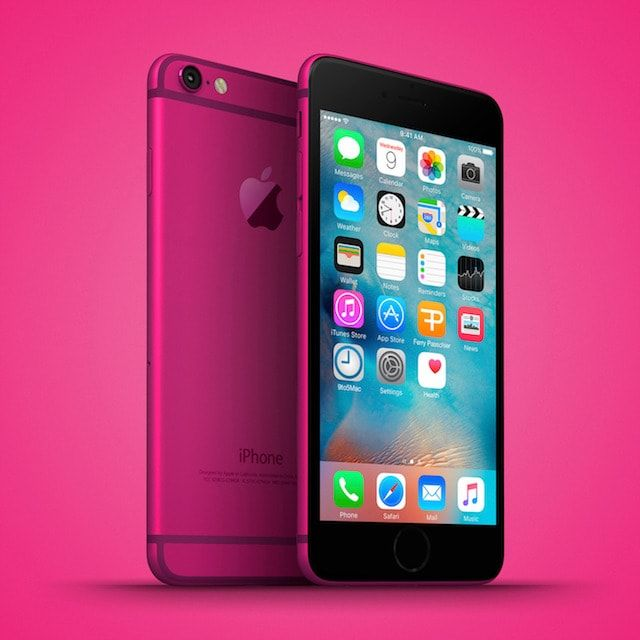 iphone 6c pink