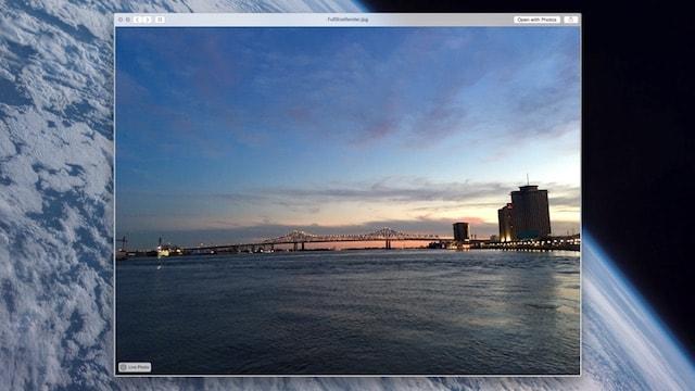 Живые фото на Mac OS X в приложении Сообщения