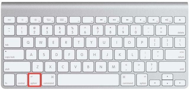 Выбор загрузочного диска на Mac
