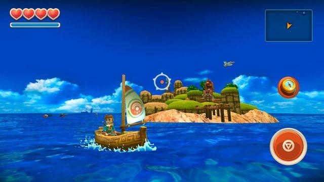 oceanhorn - приключенческая игра для iPhone и iPad
