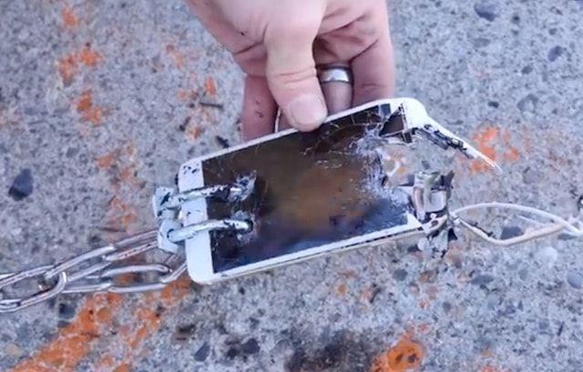 Как Porsche 911 4S разрывал на куски iPhone 6s