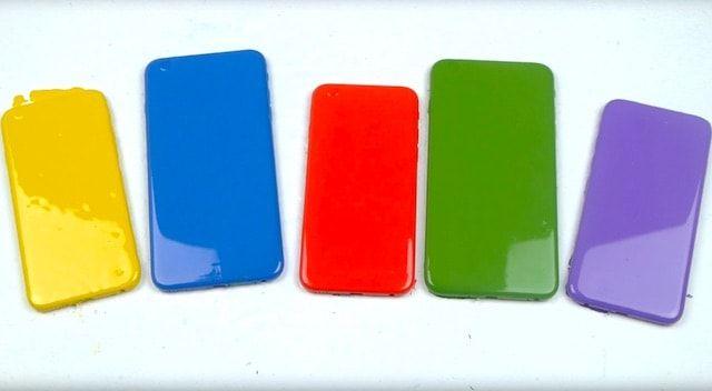 techrax разукрасил 5 iPhone 6s в разные цвета
