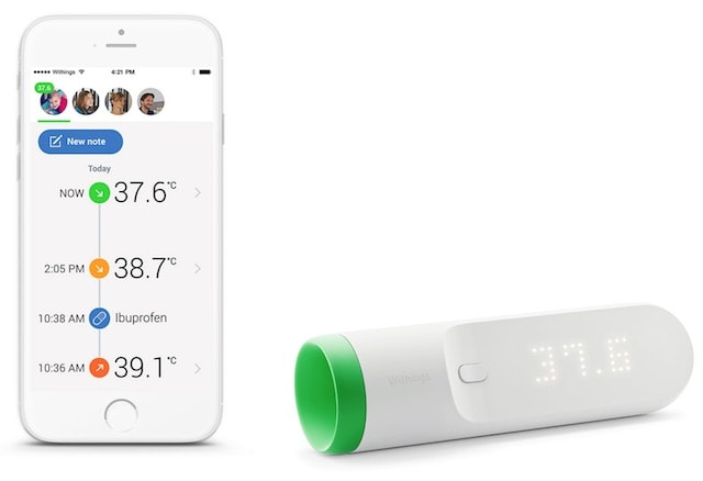 withings thermo - умный термометр