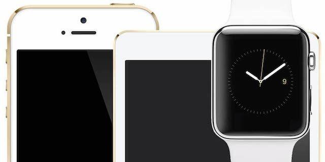 Apple Watch iPad iPhone