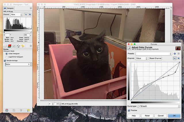 GIMP - редактор фото для Mac OS X