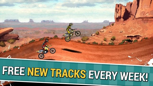 Mad Skills Motocross 2 - мотогонки для iPhone и iPad