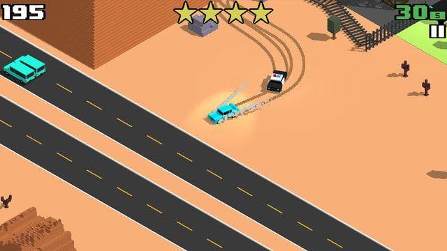 Smashy Road Wanted - гонки для iPhone и iPad