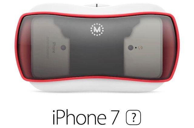 Концепт iPhone 7 с поддержкой виртуальной реальности