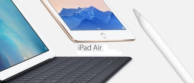 iPhone 5se и iPad Air