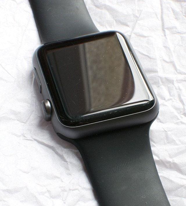 Царапина на Apple Watch