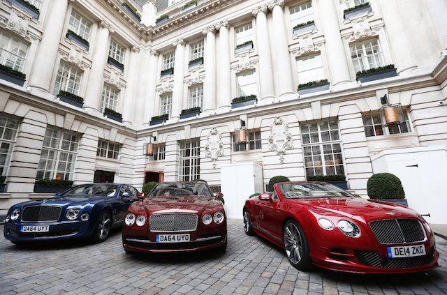 bentley luxury sedan
