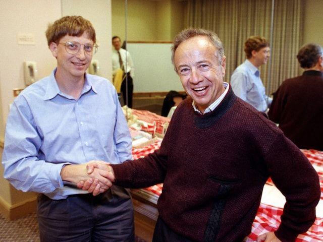 Билл Гейтс и Энди Гроув