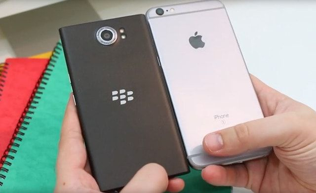 Сравнение BlackBerry PRIV и iPhone 6s Plus