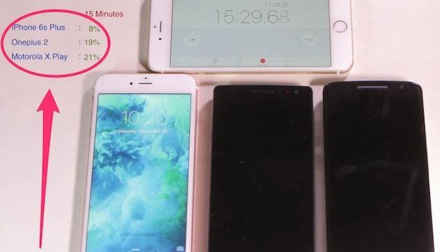 Android превзошел iPhone по скорости зарядки