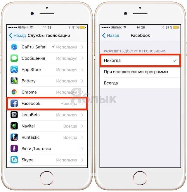Приложение Facebook на iPhone «съедает» ежедневно 15% заряда батареи