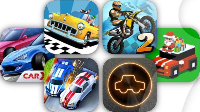 Игры гонки для iPhone и iPad