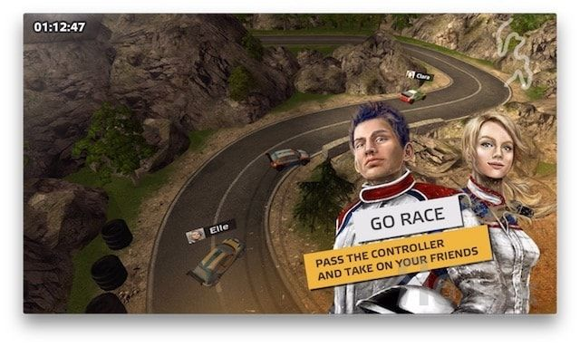 go rally гоночная игра для apple tv
