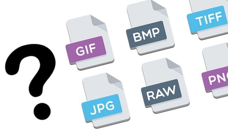 В чем разница между JPEG, GIF, PNG, RAW, BMP, TIFF и прочими графическими форматами?