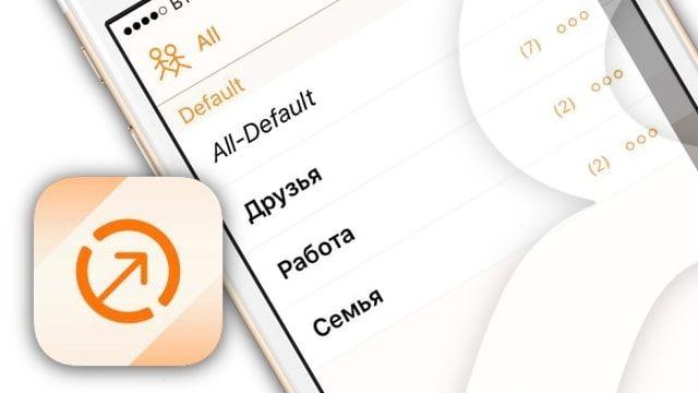 Создание и управление группами контактов на iPhone