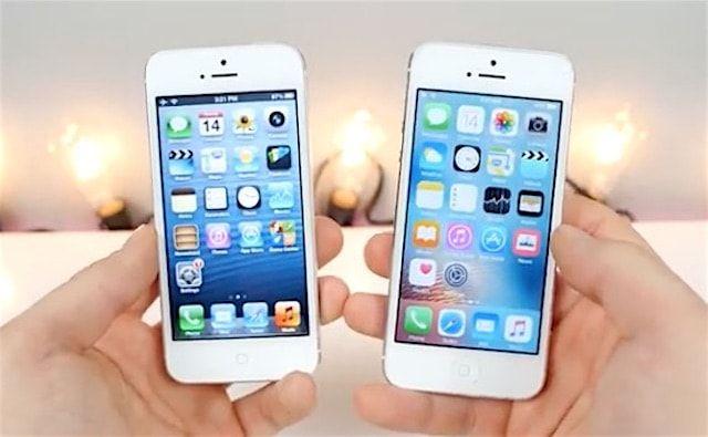 iPhone 5 на iOS 6 против iPhone 5 на iOS 9 - видеосравнение производительности