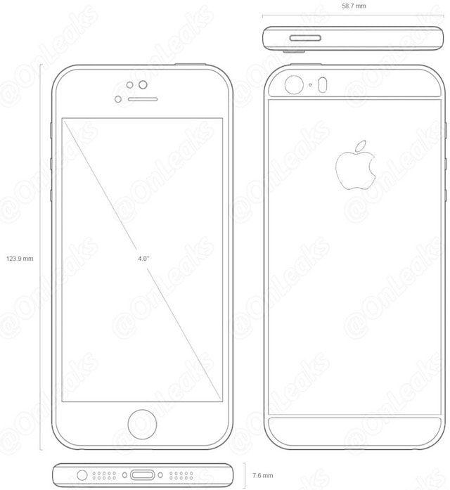 4-дюймовый iPhone 5se