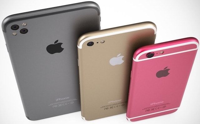 Немецкий концепт iPhone 5se и iPhone 7