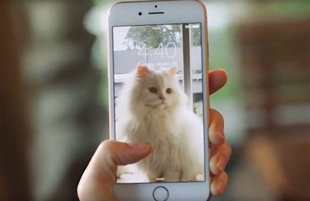 Живые фото на iPhone 6s