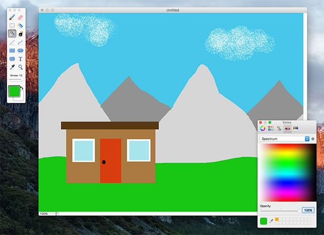 paintbrush - редактор фото для Mac OS X