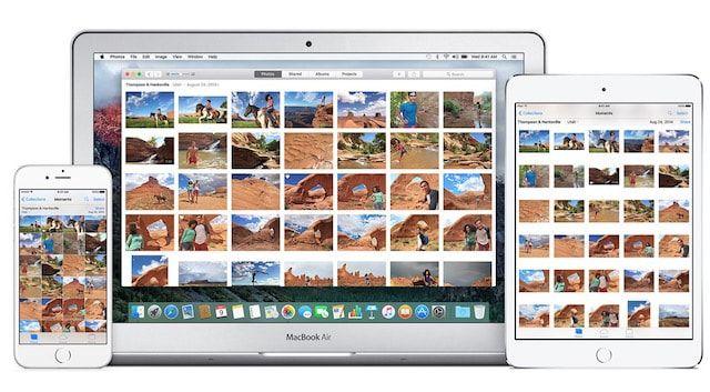 приложение Фото на Apple