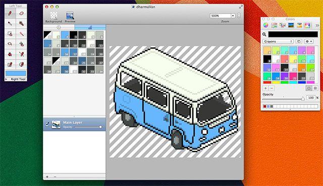 Pixen - редактор фото для Mac OS X