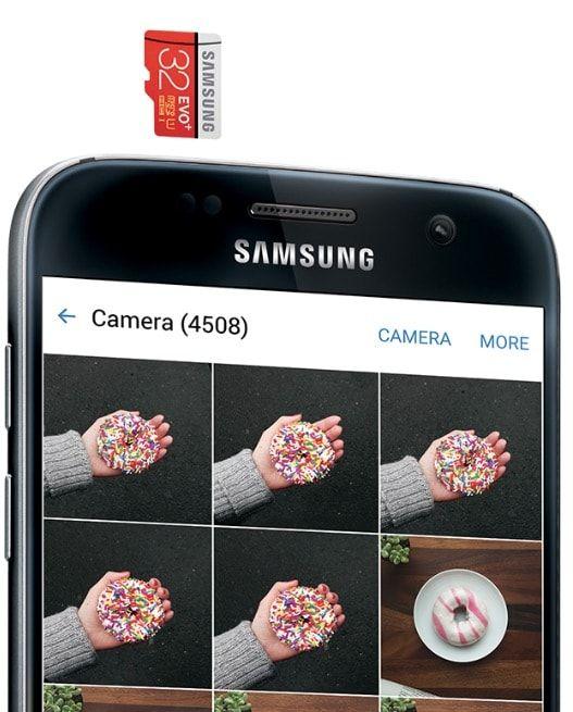 samsung galaxy s7 memory card