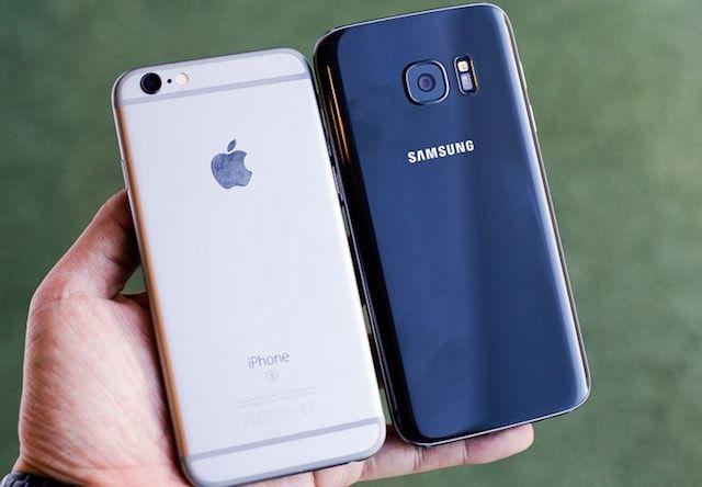 Чем отличаются или сравнение Samsung Galaxy S7 и iPhone 6s