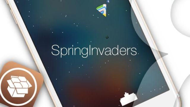 springinvaders - твик из Cydia