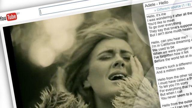 Расширение YouTube Lyrics для Safari на Mac