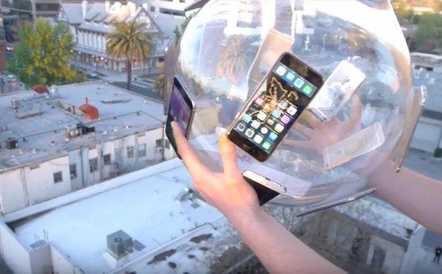 дроп-тест iPhone 6s от TechRax