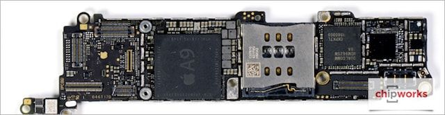 Что внутри iPhone SE