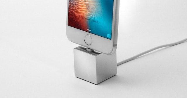 Q - минималистичная док-станция для iPhone