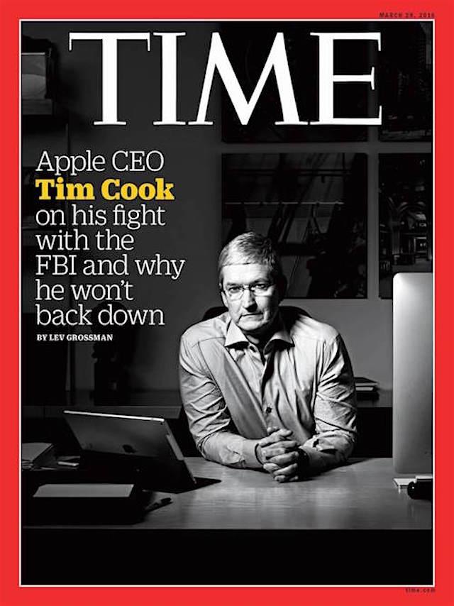 Tim Cook в журнале TIME