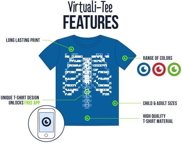 VirtualiTee kickstarter