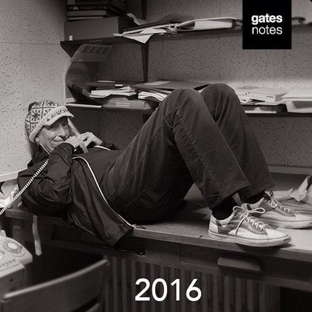Билл Гейтс 2016