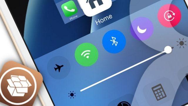 Твик Cream - цветные тумблеры в Центре управления iOS
