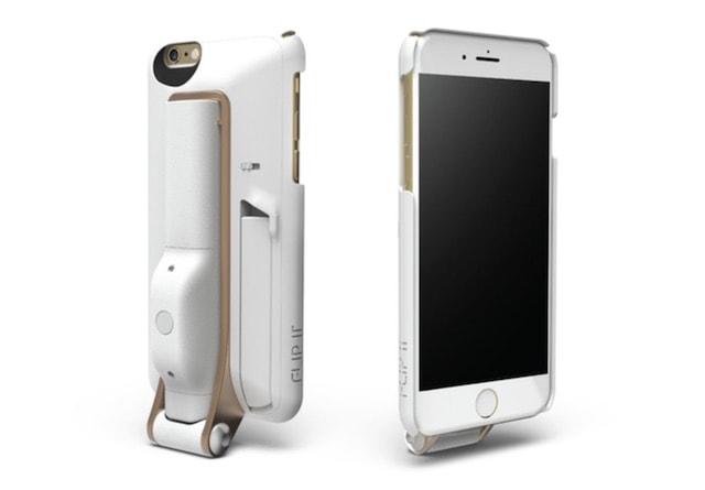 FLIP IT - чехол для iPhone со встроенной селфи-палкой и подставкой