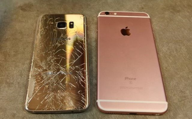 galaxy s7 edge iPhone 6s дропбокс