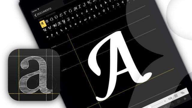 iFontMaker для ipad - как создавать шрифты на планшете