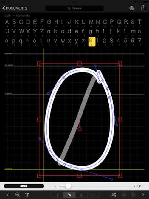 Как создавать собственные шрифты на iPad с приложением iFontMaker