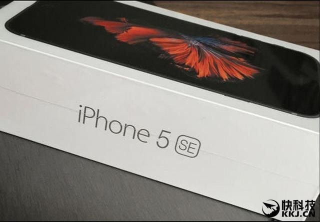 iPhone 5se в коробке